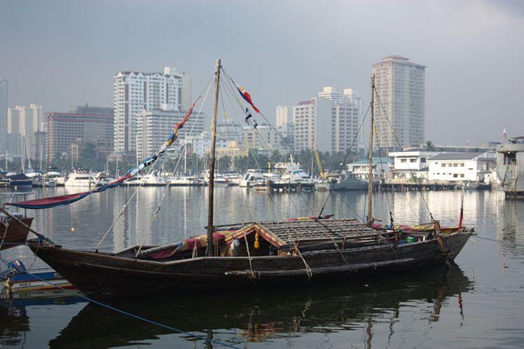Balangay boat replica