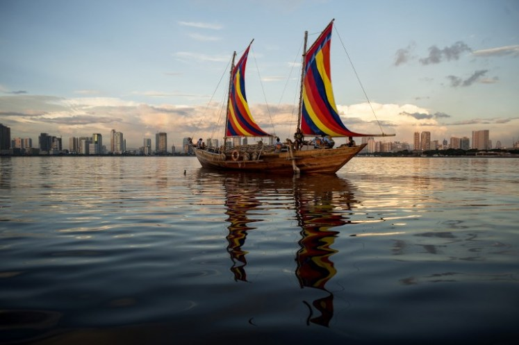 PHILIPPINES-ARCHAEOLOGY-BOAT-CULTURE-HISTORY